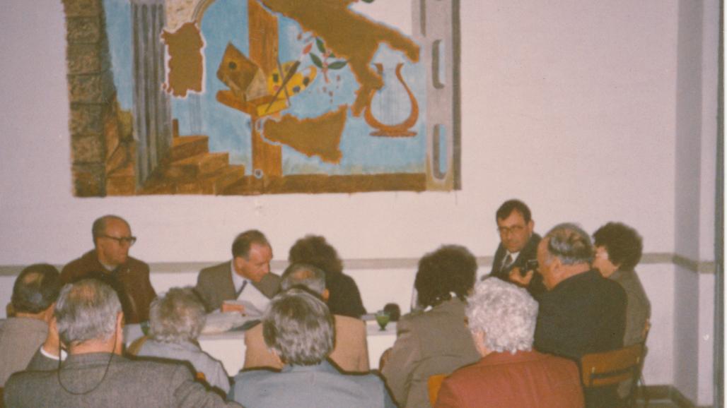 1990- Incontro con i soci