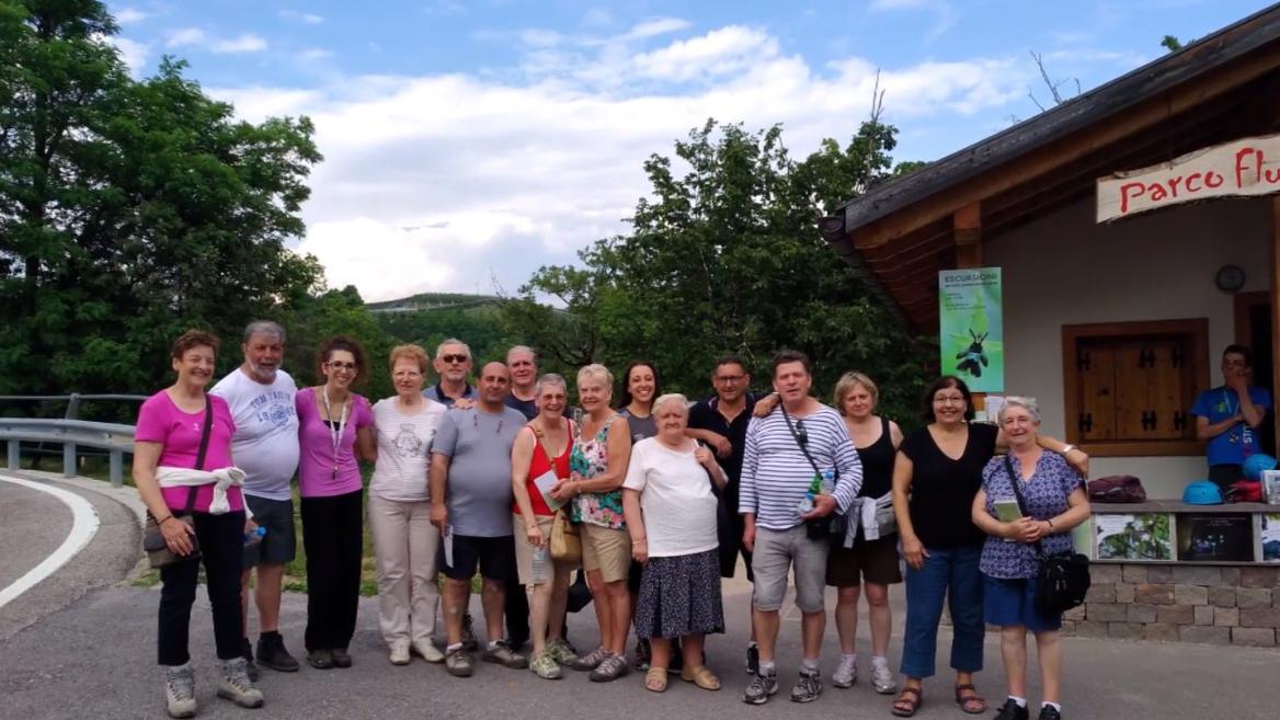 2020 - gita in Trentino al Parco Fluviale  Novella