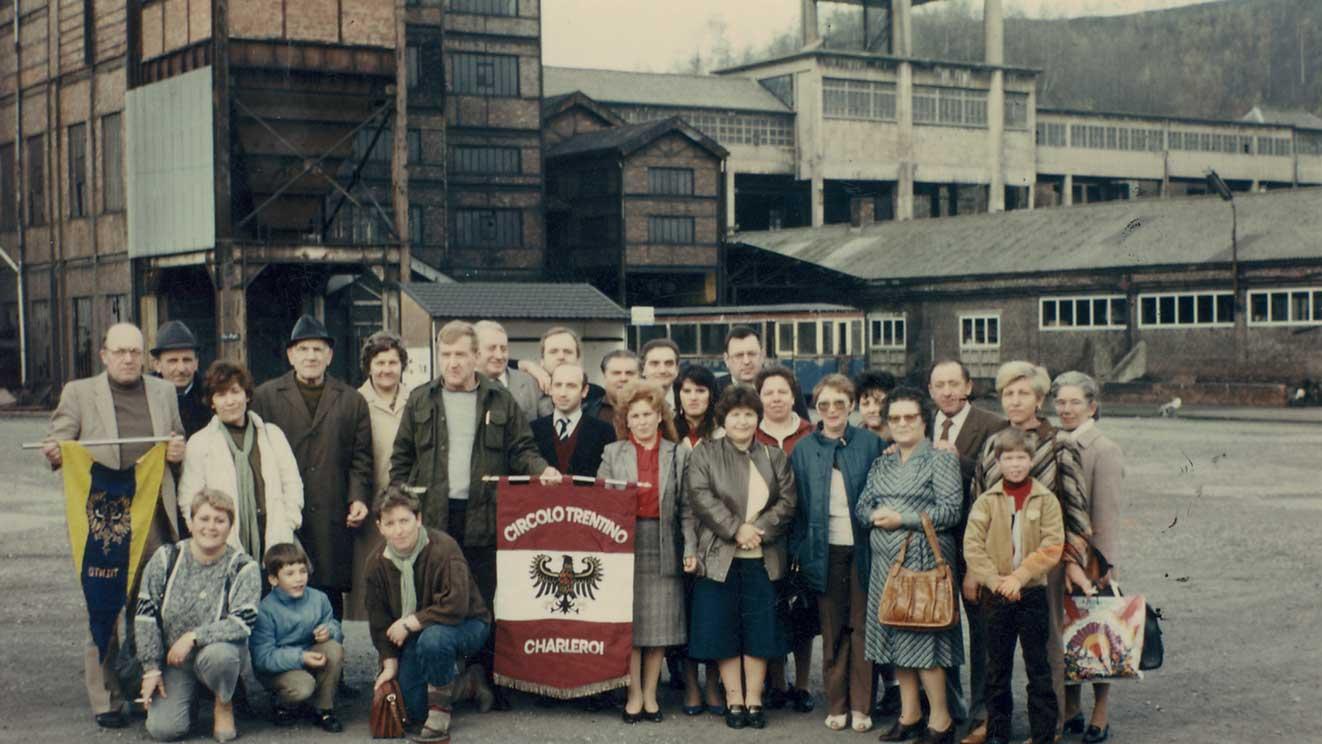 1984 - gita alla Miniera di Bregny-Trembleur a Liegi