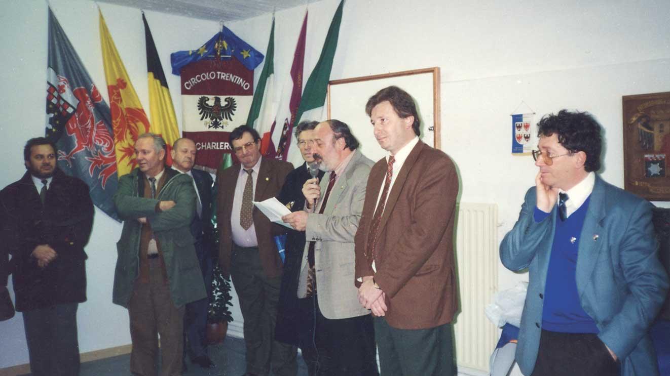 1996, Inaugurazione della sede del Circolo