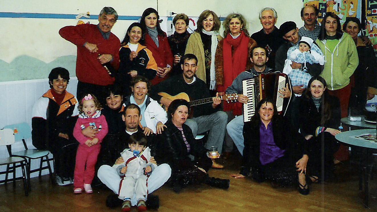 2005 coro Stella Alpina alla festa sociale del Circolo