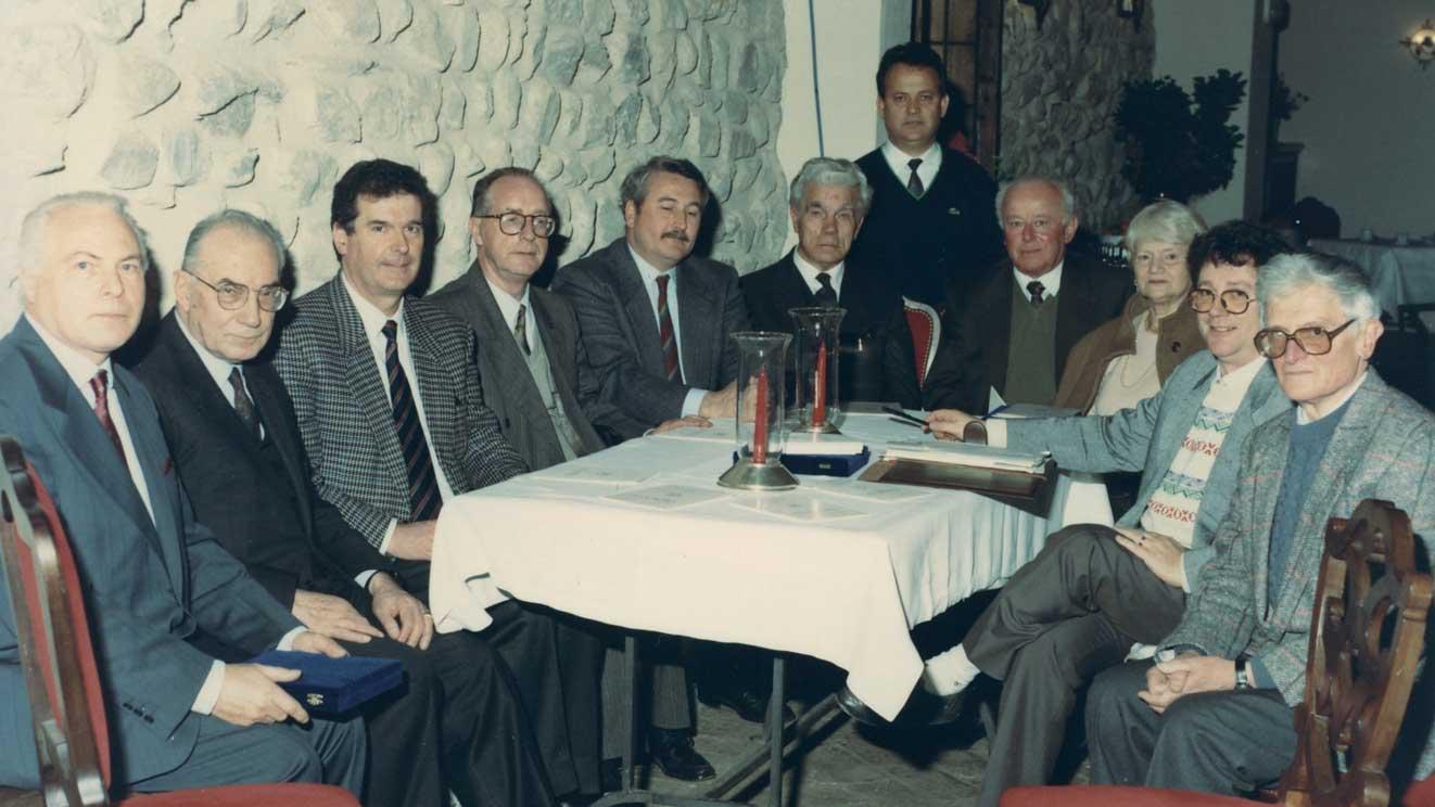 1991 Incontro con le autorità dell'Associazione