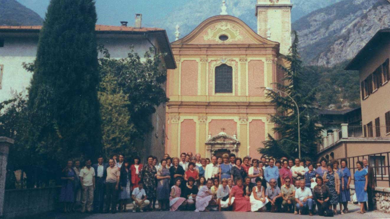 1983 Ad Aldeno si celebrano i 100 anni dalla partenza