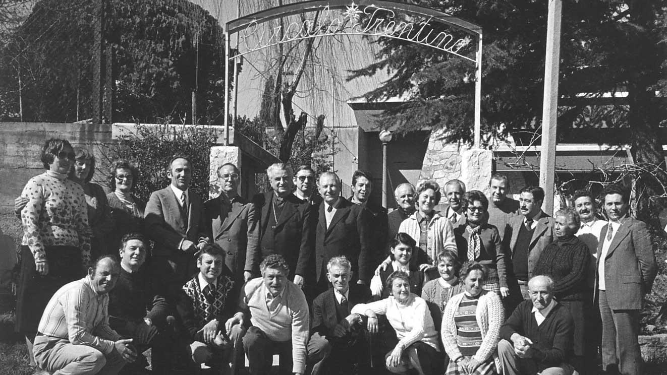 1980 - visita di Bruno Fronza al Circolo