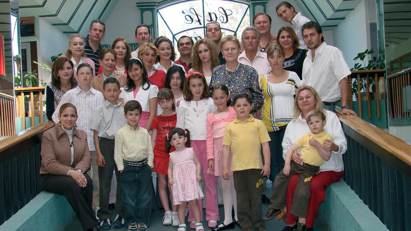 Famiglia Lazzeri componenti del Circolo