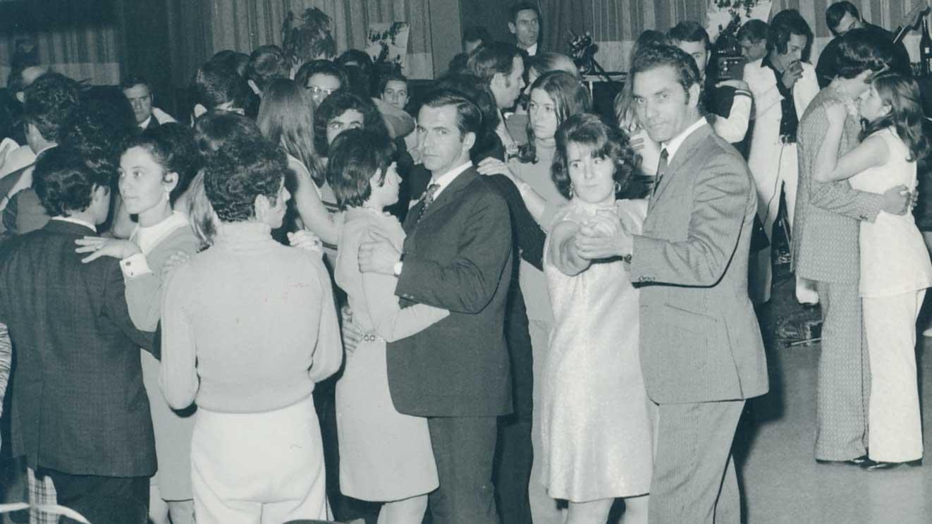 Anni 60-70 il ballo al circolo